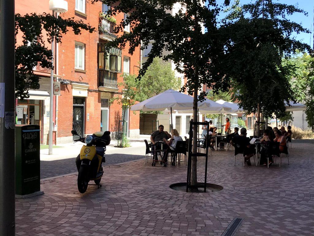 Calle Pilar de Zaragoza.