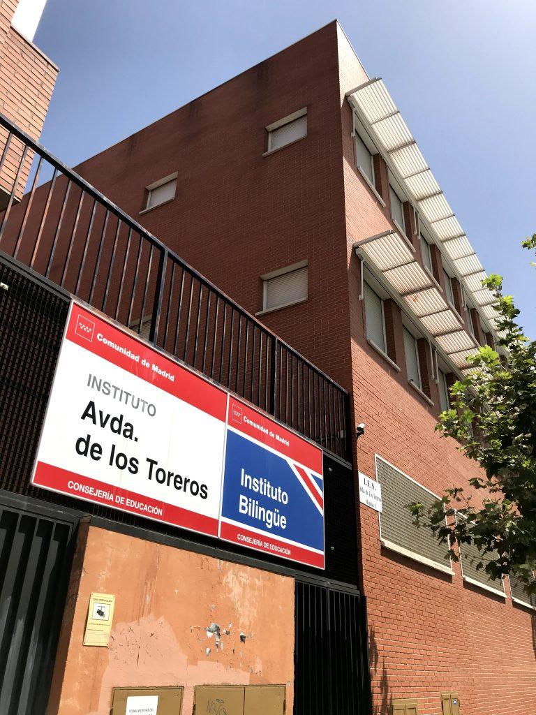 Avenida de los Toreros.
